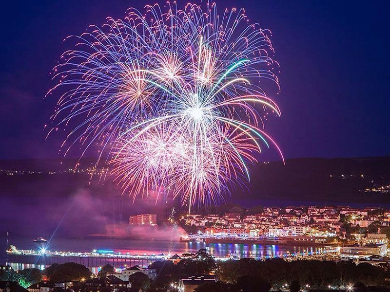 Sonic Fireworks in Paignton