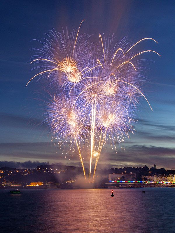 Corporate Display in Torquay by Sonic Fireworks
