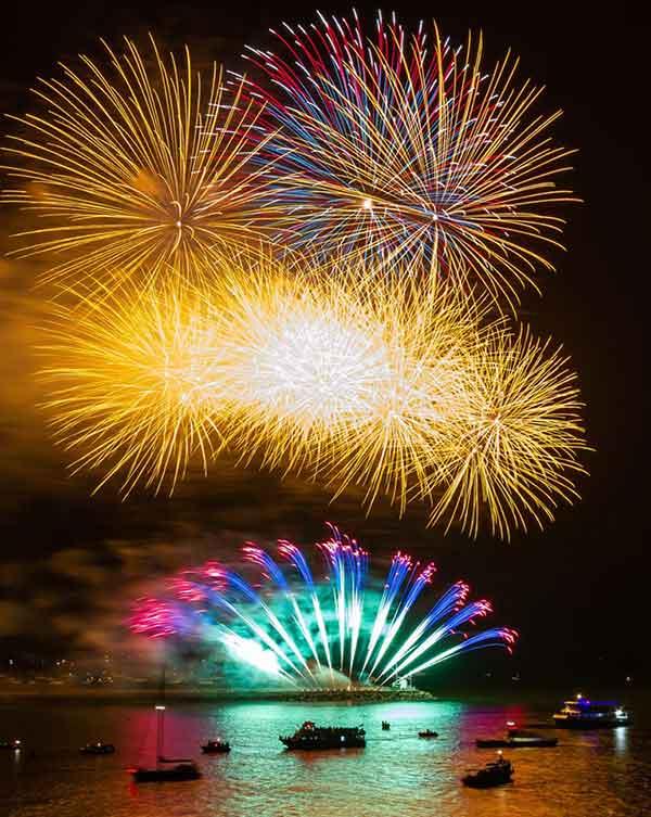 1st Galaxy Fireworks winning display 2019