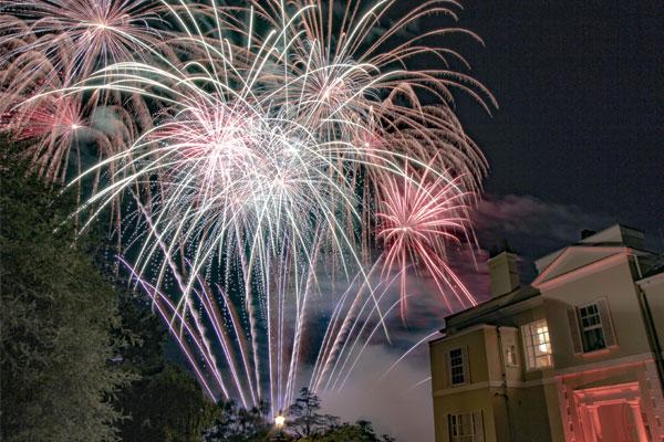 Fireworks at Deer Park, Devon